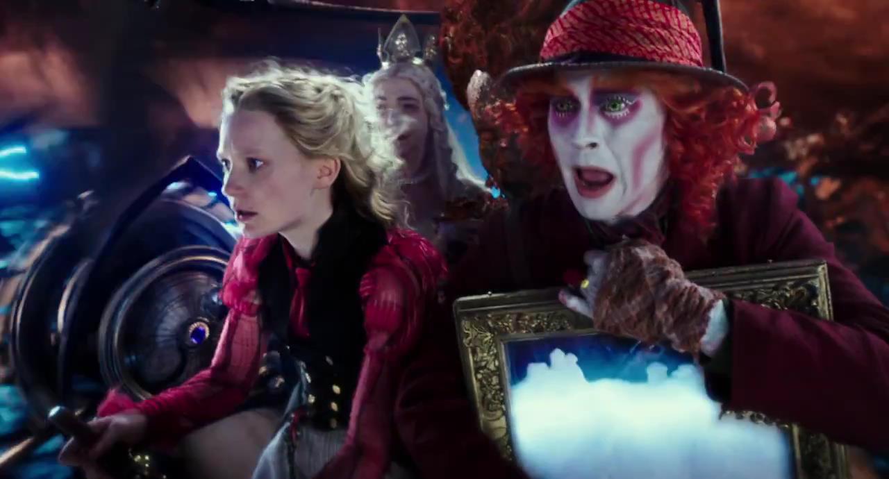 Alice in wonderland alice attraverso lo specchio cinesound blog - Alice dietro lo specchio ...